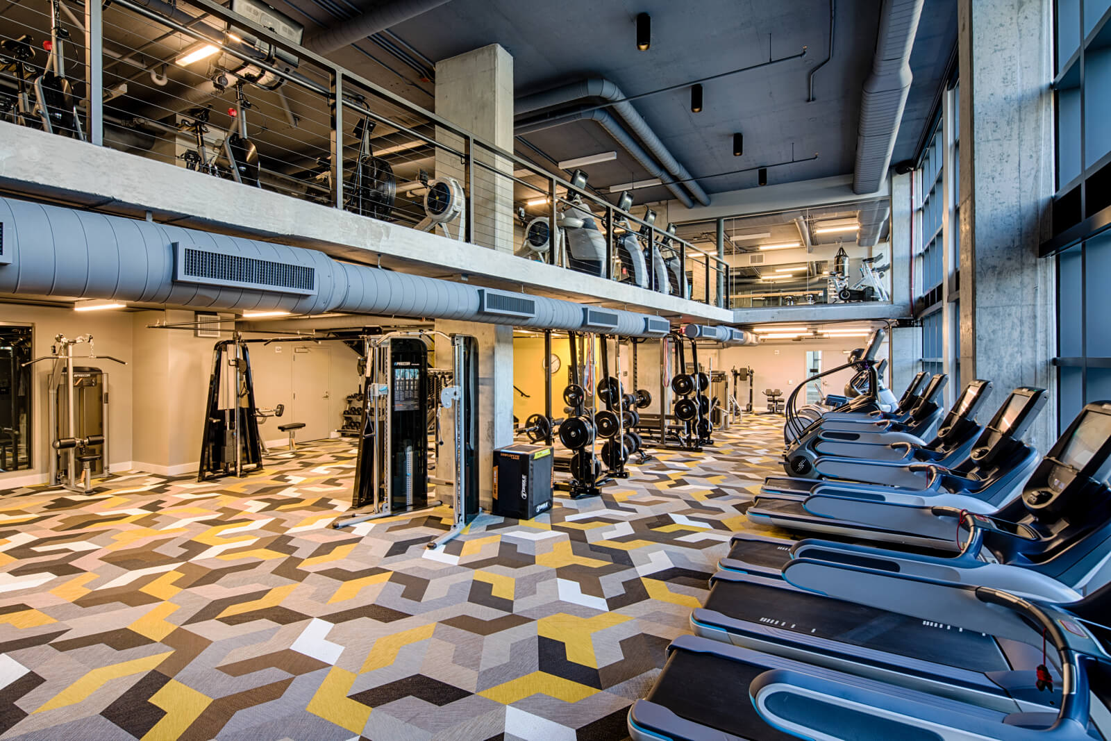Channel Interior Amenity Fitness Nov2017
